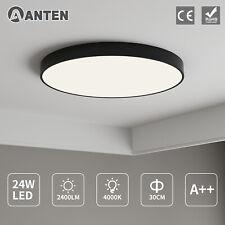 24W LED Deckenleuchte Deckenlampe Rund Badleuchte Wohnzimmer Schlafzimmer Licht