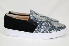 Vionic Women's Midi Snake Slip on Sneakers Size 10 Printed Leather Suede