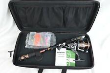 PLUSINNO Fishing Rod and Reel Combo Carbon Fiber Telescopic Fishing Rod w/ Reel