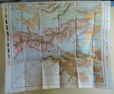 1910 Antique Map Texas Panhandle Amarillo Matlock Hereford Cadman 33X28 #4218