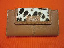 GEORGES RECH Cartera billetera monedero 100% piel. Genuine Leather Wallet. New!