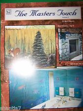 THE MASTERS TOUCH V2 BY SHERRY MASTERS  2002 ACRYLIC MURAL TYPE  TOLE PAINT BOOK