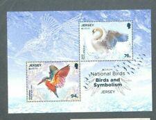Jersey-National Birds min sheet europa 2019-mnh