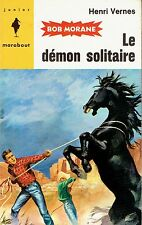186. BOB MORANE.  LE DEMON SOLITAIRE.  1959.  Henri VERNES.   EO.
