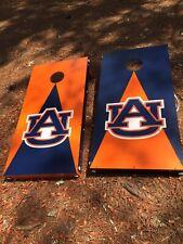 Auburn Tigers Cornhole Board Set