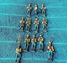 12 x CBG Mignot French Napoleonic Wars Soldiers Military Band Very Rare