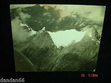 AVIANCA Colombia South America AERIAL Airplane PHOTO Snow Cap Mt Andes Venezuela