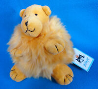 "VINTAGE 1999 🐻 5"" TEDDY BEAR soft plush toy JELLYCAT 🐻 PUFFBALL PUFF BALL *NEW"