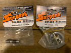Serpent 804500 and 804501 Solid Rear Axle and Aluminum Pulley for Serpent 1:10