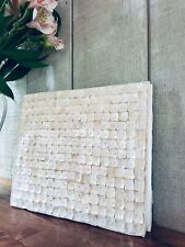 Mother of Pearl Shell Wedding Party Guest Book Handmade Gorgeous Unique