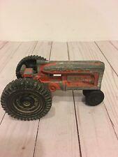 """Vintage 7"""" Hubley Jr. Kiddie Die Cast Toy Tractor Made In USA"""