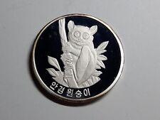 Korea 2007, Glasses Monkey 1500 Won, 1 oz Silver Proof #W23