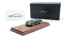 #TP911S-11 - Timothy & Pierre Porsche 911 Singer Coupe - Green - Pro - 1:64