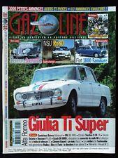 GAZOLINE N° 127 / Alfa Romeo Giulia - Panhard Dynamic - NSU Ro80 - Fiat 1800