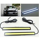 2 X 12V LED COB Car Auto DRL Driving Daytime Running Lamp Fog Light White 17cm