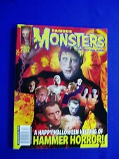 Famous Monsters of Filmland 252. Variant cover. Hammer Films. High Grade.