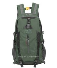 NEW Hiking Camping Waterproof Daypack Backpack GREEN