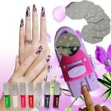 Machine à imprimer tampon sur ongle avec  vernis et  disques pochoirs Nail Art