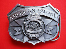 Siskiyou Boucle Ceinture - Américain Lawman To Serve et Protection Encre  1986 42cd6f33d51