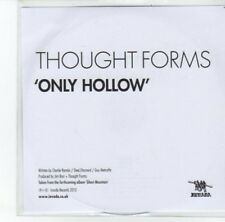 (DK27) Thought Forms, Only Hollow - 2013 DJ CD