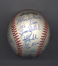 1988 MONTREAL EXPOS Autographed Team Baseball BALL 23 Autographs