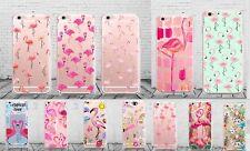 Coque Flamand Rose Flamingo Animals Nature Soft Case Apple Iphone 5 6 6S 7 8 X