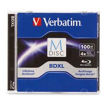 M DISC VERBATIM BDXL 100GB 4X Branded Logo 1 pack