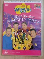 The Wiggles Hoop Dee Doo It's A Wiggly Party DVD Region 4 *RARE ORIGINAL RELEASE