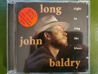 LONG JOHN BALDRY: Right To Sing The Blues. Hypertension CD 1997p+c mit Interview