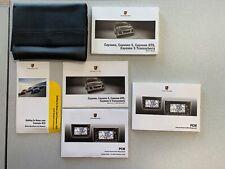 2009 Porsche Cayenne GTS Cayenne S SUV Owner Owner's Operator Manual Set V6 V8