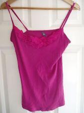Ladies EVIE Size 12 UK Euro 40 Pink Vest Top