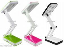 Lampara FLEXO 24 LED con Bateria Recargable y enchufe, Luz blanca 6400k camping