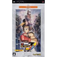 Used PSP Street Fighter Zero 3 Double Upper CapKor SONY PLAYSTATION JAPAN IMPORT