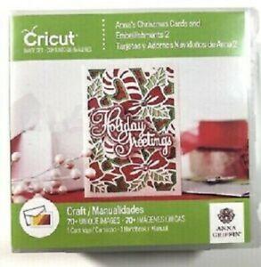 New Sealed Cricut Cartridge Anna's Christmas Cards and Embellishments II