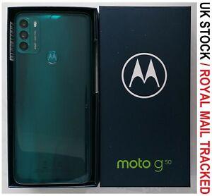 MOTOROLA Moto G50 - 64 GB Smart Mobile Phone Aqua Green- Unlocked - Grade A