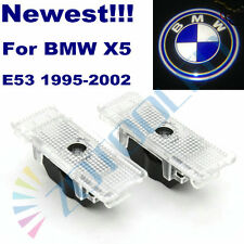 2xLaser Led Door Courtesy Light BMW Logo Courtesy for BMW E53 X5 95-02 E39 99-06