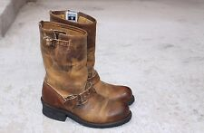 Frye Engineer Boots Women's 6.5 distressed Look