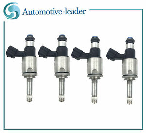 4X Fuel injector For Lexus GS350 IS350 NX300h RC350 15-18 IS300 RC300 16-18 2.0L