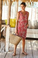 NEXT FLORAL PRINT LINEN BLEND DRESS  SIZE 22   NEW WITH TAGS