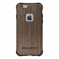 Ballistic Urbanite Select Case for Apple iPhone 6/6s - Black with Ash Wood
