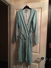 Brand New Waite's Lingerie Women's Polka Dot Cotton Gown Robe Size M