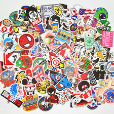 100 Random Stickers Vinyl Skateboard Guitar Travel Case sticker pack decals Mix