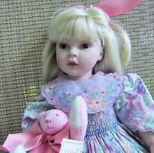 "Pauline Bjonness-Jacobsen Porcelain 22"" Doll ""Jacqueline"" Ltd. Ed."