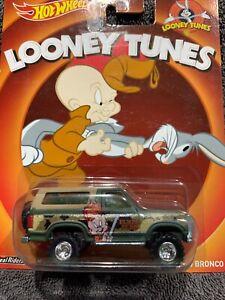 Hot Wheels Looney Tunes 85 Ford Bronco Real Riders Metal/metal