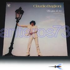 CLAUDIO BAGLIONI RARO LP INTERAMENTE IN FRANCESE