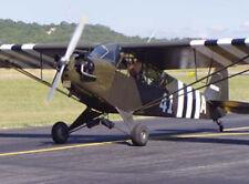 Huge Giant 1/2 Scale American WW-II Piper L-4 Grasshopper Plans & Instruc 216ws