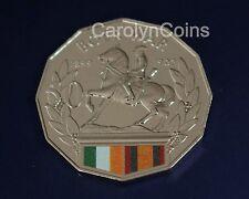 50 Cent Coin 2014 Australia at War Boer War 1899 - 1902 Colour Printed UNC 50c