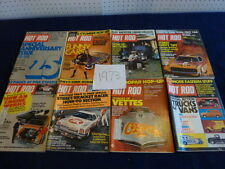 Hot Rod Magazine (1973 )...group of 8.. missing ..Sept.-Oct.-Nov.-Dec...fair