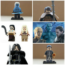 Game Of Thrones Mini Figures Jon Snow Tyrion Jamie Lannister fit lego Drogo