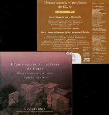 CHANTS SACRES & PROFANES DE CORSE - A CUMPAGNIA / 2 CDs